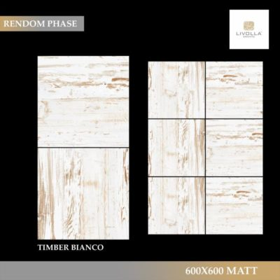 600x600 Wood TIMBER BIANCO