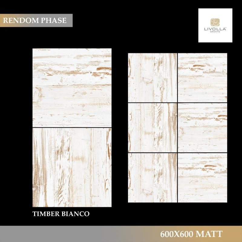 600x600 Wood TIMBER BIANCO
