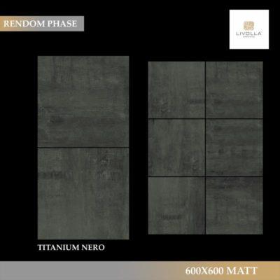 600x600 Matt TITANIUM NERO