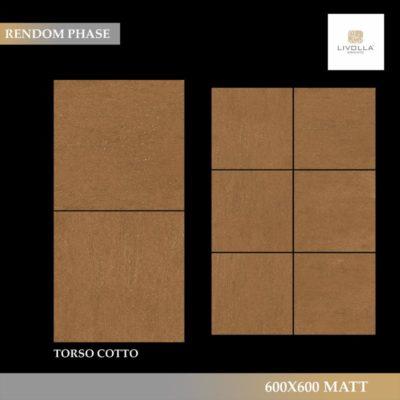 600x600 Matt TORSO COTTO