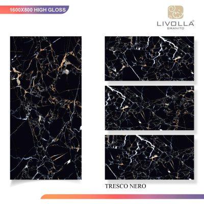 800x1600 High Glossy TRESCO NERO