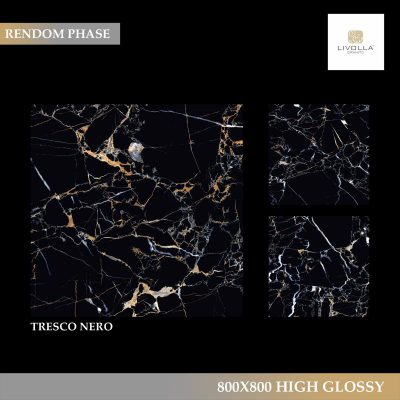 800x800 High Glossy TRESCO NERO