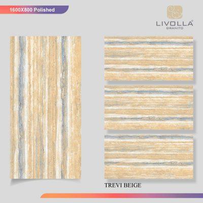 800x1600 Glossy TREVI BEIGE