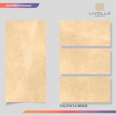 800x1600 Glossy VALENCIA BEIGE