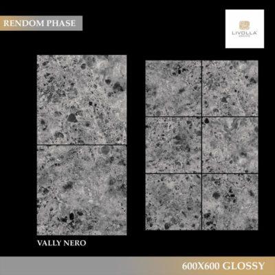 600x600 Glossy VALLY NERO