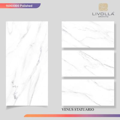 800x1600 Glossy VENUS STATUARIO
