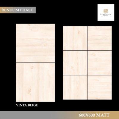 600x600 Wood VINTA BEIGE