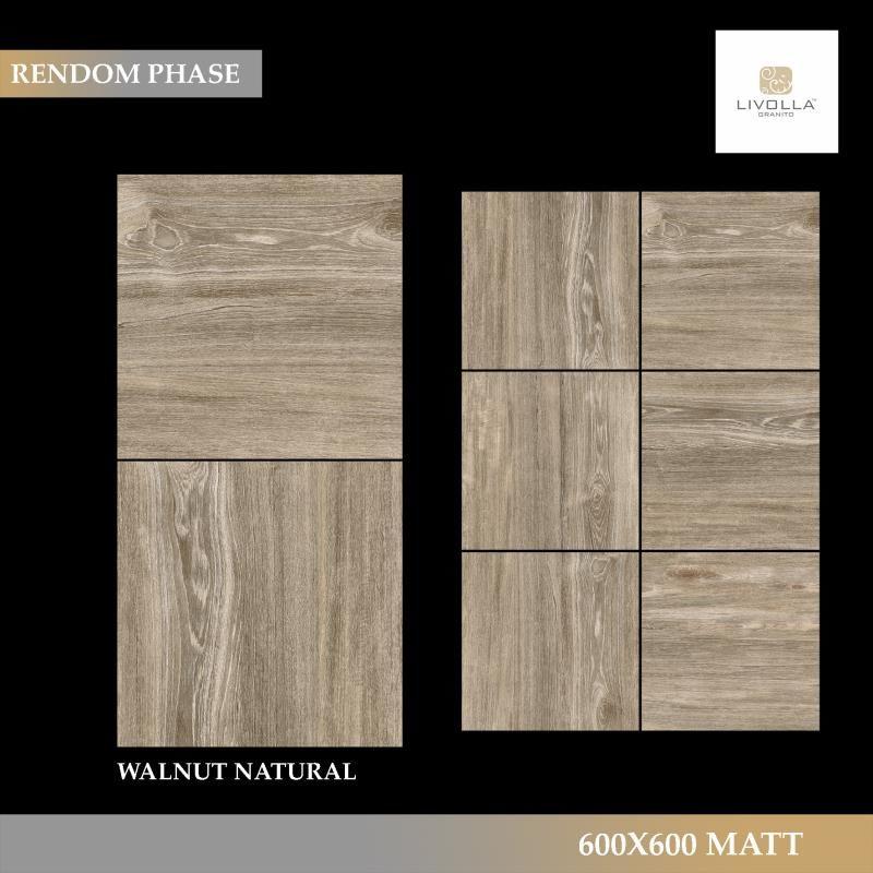 600x600 Wood WALNUT NATURAL