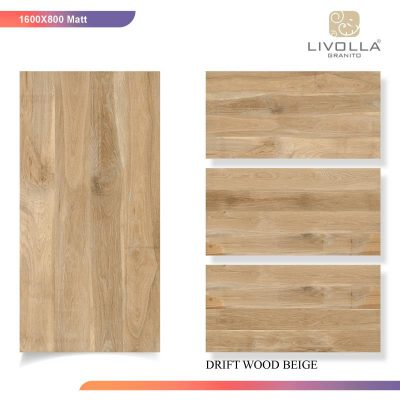 800x1600 Matt ZDRIFT WOOD BEIGE