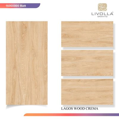800x1600 Matt ZLAGOS WOOD CREMA