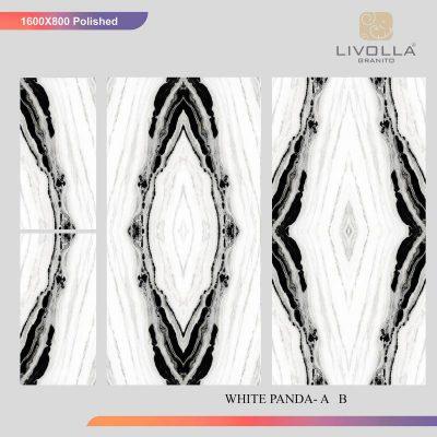 800x1600 High Glossy ZZ WHITE PANDA