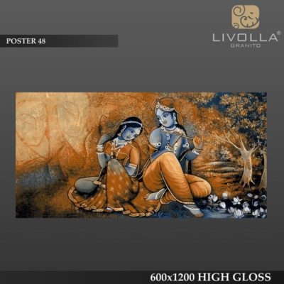 POSTER 48 - 600x1200(60x120) HIGH GLOSSY PORCELAIN TILE