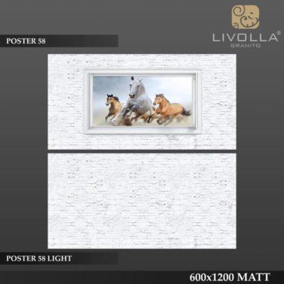 POSTER 58 - 600x1200(60x120) HIGH GLOSSY PORCELAIN TILE