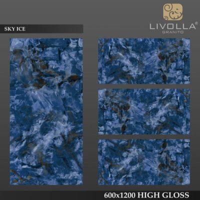 SKY ICE - 600x1200(60x120) HIGH GLOSSY PORCELAIN TILE