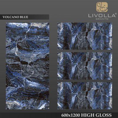 VOLCANO BLUE - 600x1200(60x120) HIGH GLOSSY PORCELAIN TILE