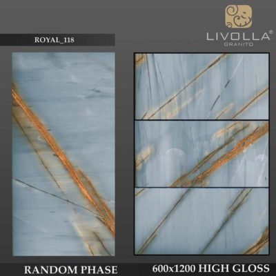 ROYAL 118 - 600x1200(60x120) HIGH GLOSSY PORCELAIN TILE