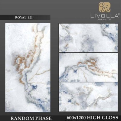 ROYAL 121 - 600x1200(60x120) HIGH GLOSSY PORCELAIN TILE