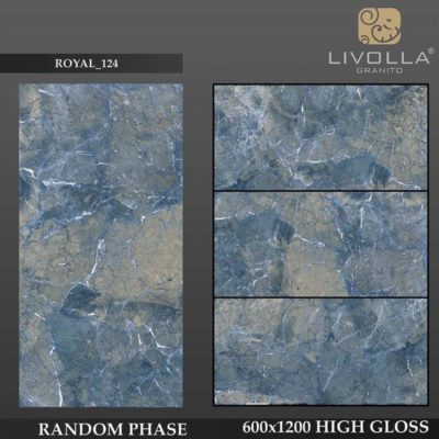 ROYAL 124 - 600x1200(60x120) HIGH GLOSSY PORCELAIN TILE