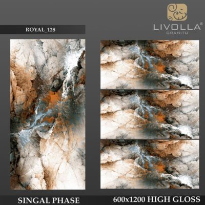 ROYAL 128 - 600x1200(60x120) HIGH GLOSSY PORCELAIN TILE