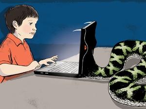 امنیت اینترنت کودک رسانه