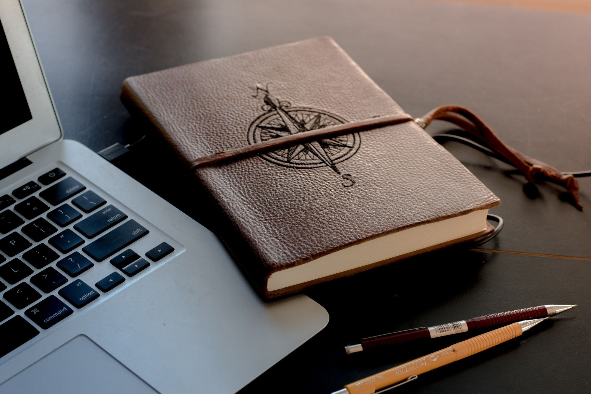 brown color journal