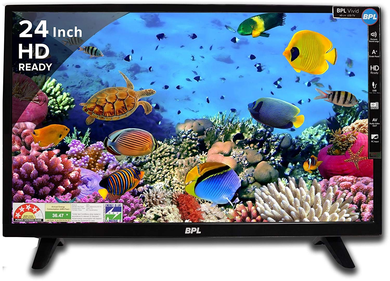 BPL BPL060A35J (24 inches) Vivid  HD Ready LED TV