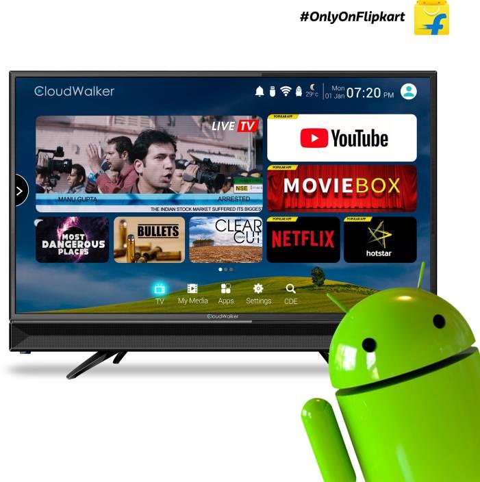 CloudWalker TV32SH (32 Inches) HD Ready LED Smart TV Cloud TV