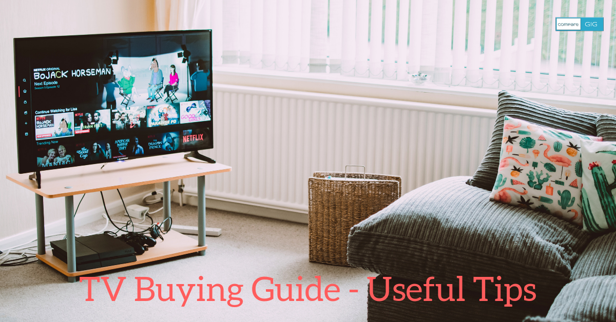 TV Buying Guide - Useful Tips