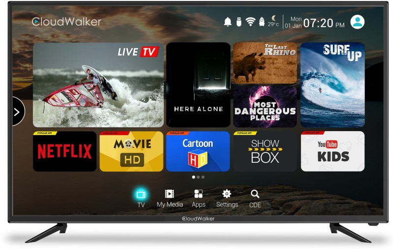 CloudWalker CLOUD TV 43SF price list and review