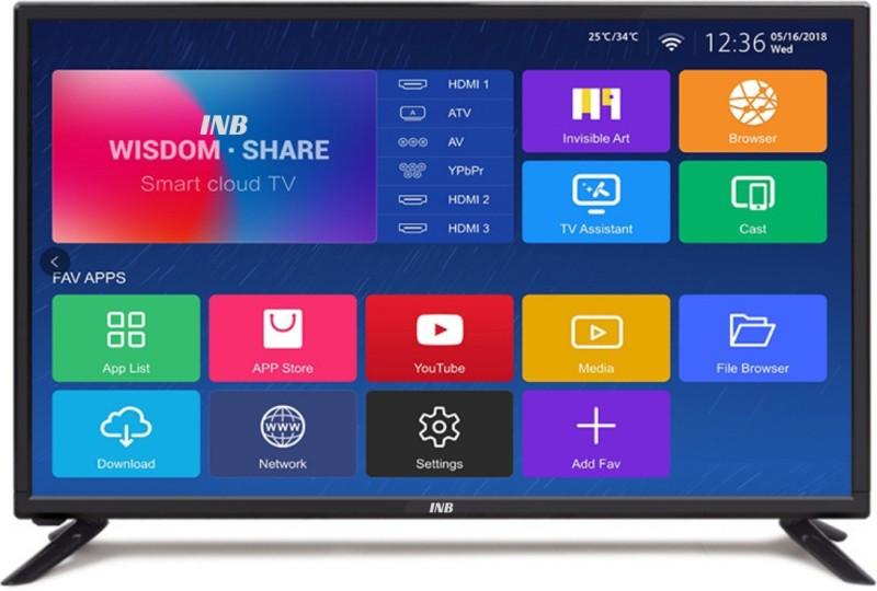 INB INBA-32-JMJ (32 inch) HD Ready LED Smart TV