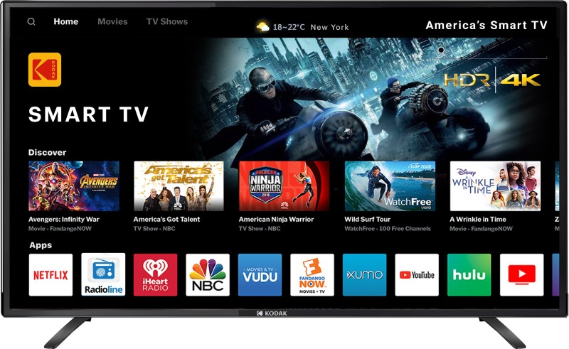 Kodak 55UHDXSMART 140cm (55 inch) Ultra HD (4K) LED Smart TV