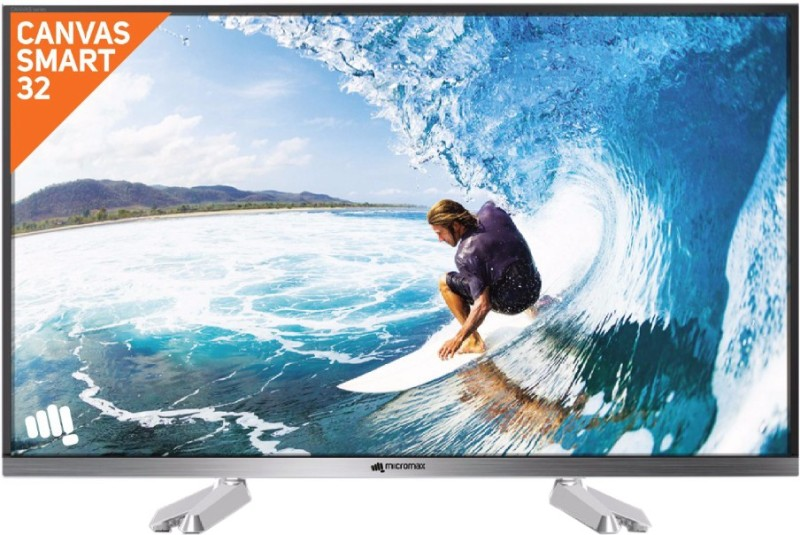 Micromax CanvasS2 (32 inch) HD Ready LED Smart TV