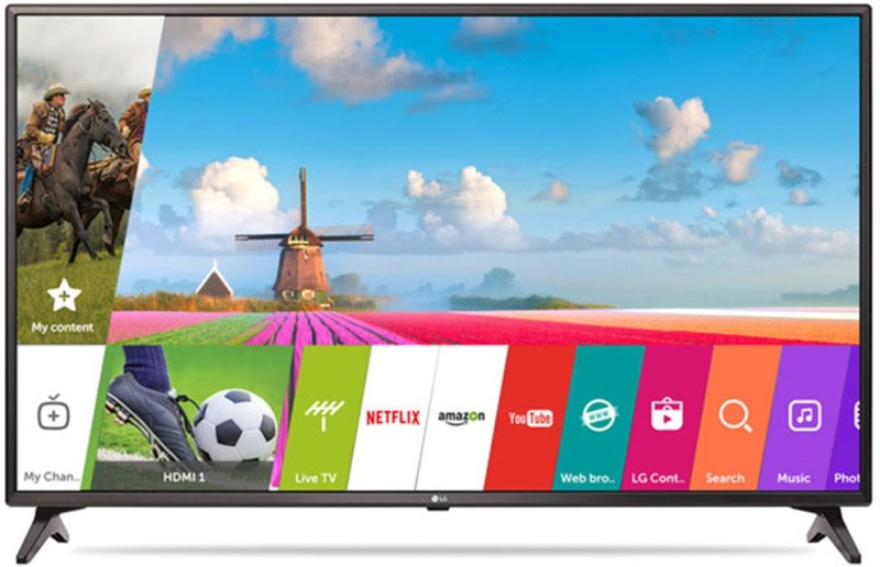 LG 43LJ617T price list and review