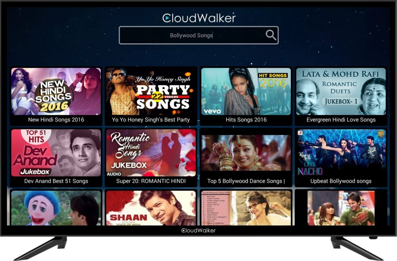 CloudWalker Cloud TV 39SF TV 100cm (39.37 inch) Full HD LED Smart TV