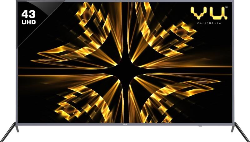 Vu 43BU113 109cm (43 inch) Ultra HD (4K) LED Smart TV
