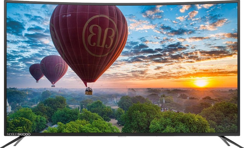 Noble NB55CUV01 CUV55 (55 inch) Ultra HD (4K) Curved LED Smart TV