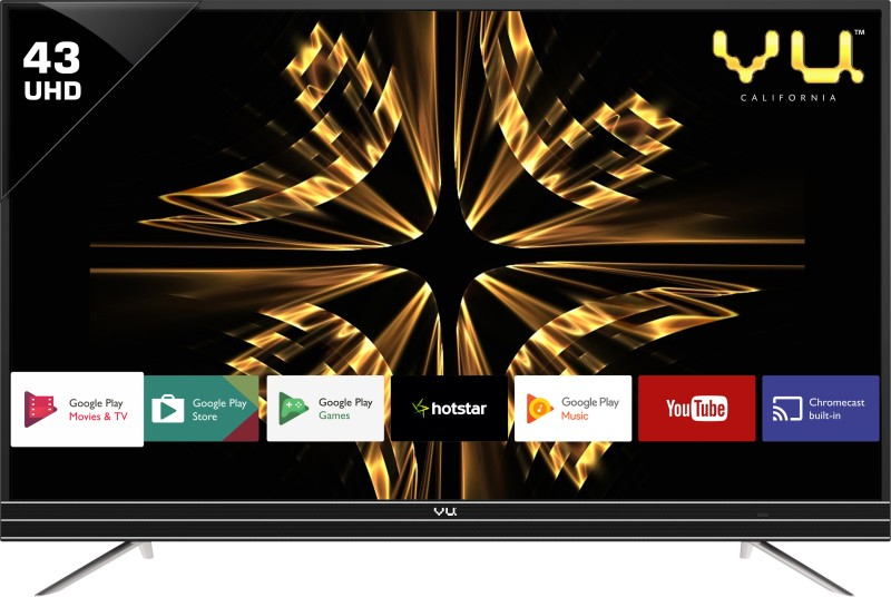 Vu 43SU128_V1 Android 109cm (43 inch) Ultra HD (4K) LED Smart TV