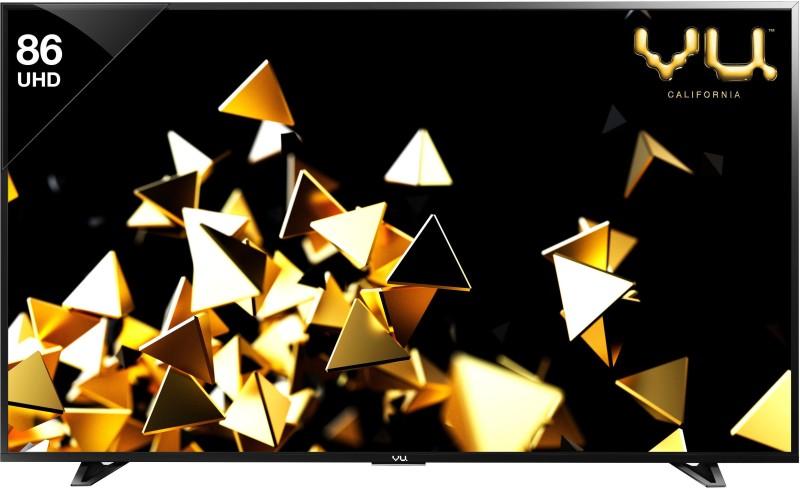 Vu VU/C/PXUHD86 HDR 218cm (86 inch) Ultra HD (4K) LED Smart TV