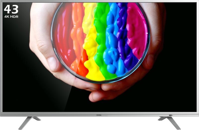 Onida 43UIC Certified 107.97cm (43 inch) Ultra HD (4K) LED Smart TV