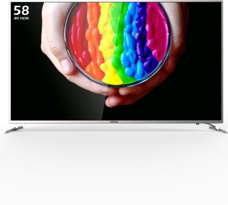 Onida 58UIC Certified (58 inch) Ultra HD (4K) LED Smart TV