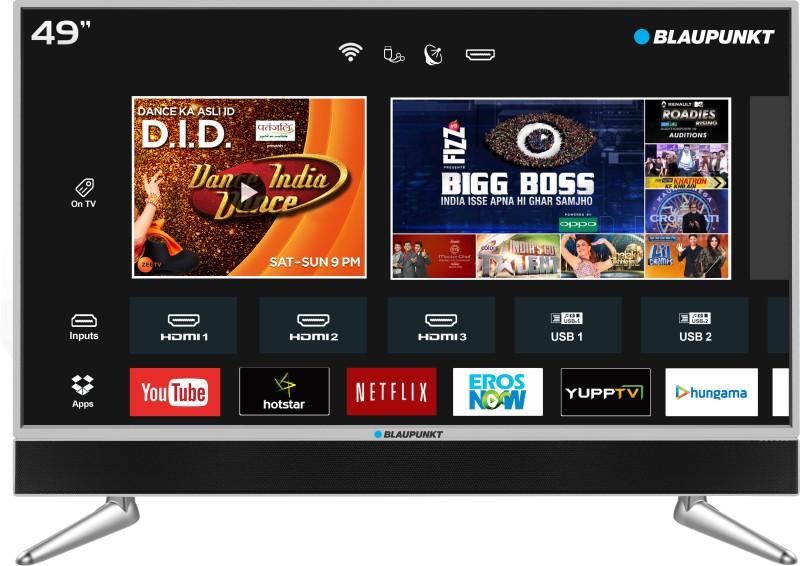 Blaupunkt BLA49AU680 (49 inch) Ultra HD (4K) LED Smart TV  with In-built Soundbar