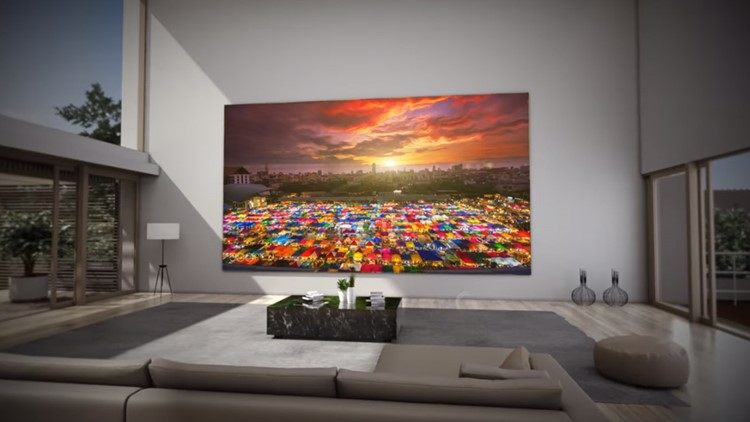 """THE WALL"""" Modular Television by Samsung - First Look"""