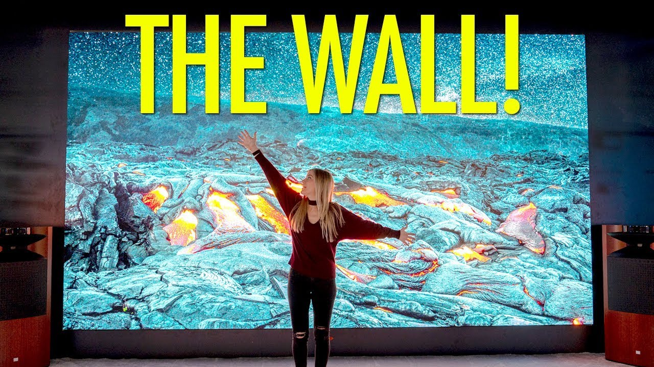 "THE WALL"" Modular Television by Samsung - First Look"