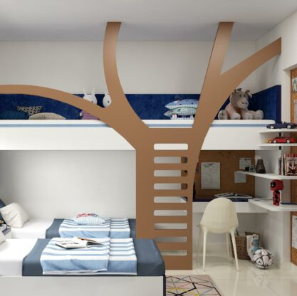 Shape Your Kid's Mood With These 5 Bedroom Colours