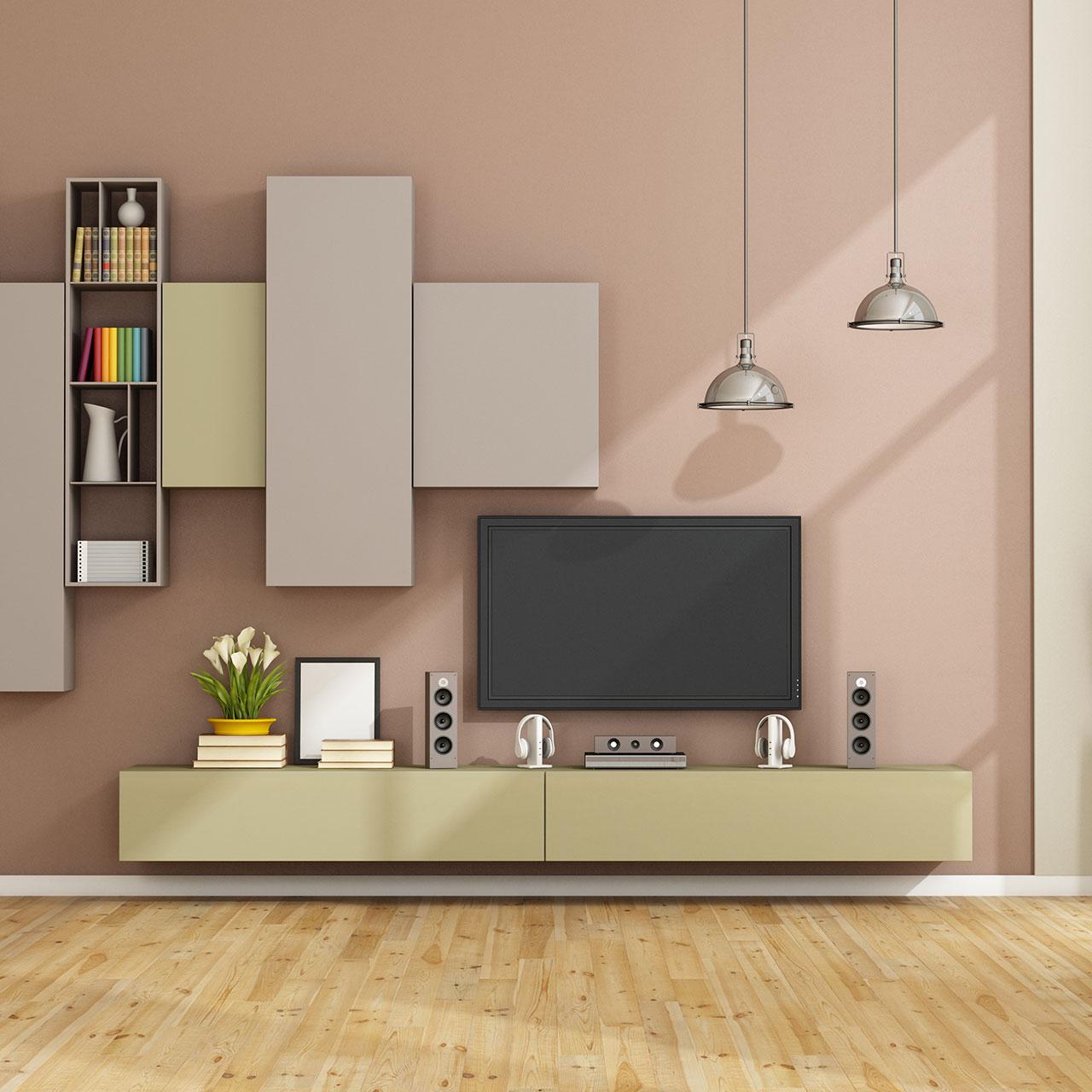 TV Unit Design Ideas For Living Room | Design Cafe
