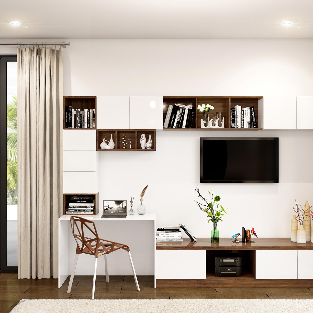Bedroom TV Unit Designs For Your Home