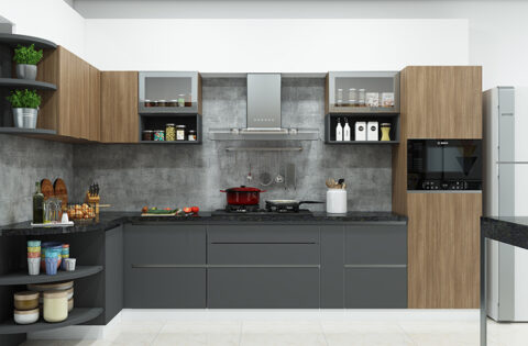 Modular Kitchen design ideas to inspire your kitchen interiors from Design Cafe.