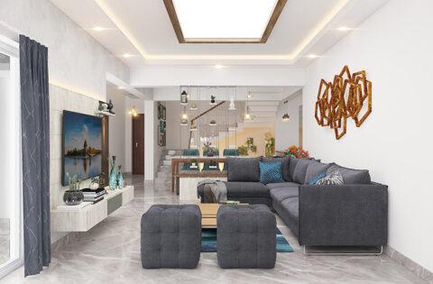Living room interior design ideas to inspire living room interiors by Design Cafe.