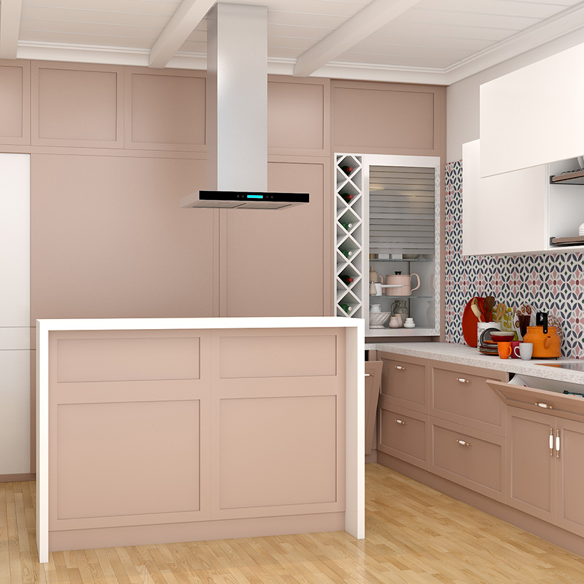 Measure space between ceiling and edges of cabinets and accordingly use it for kitchen storage