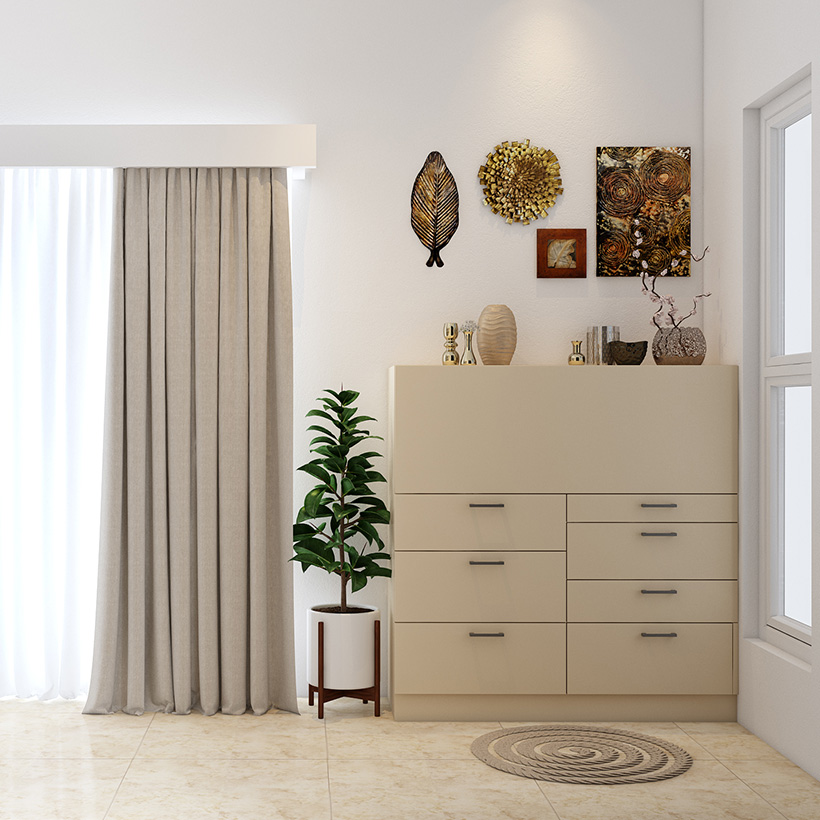 Wall showcase design for living room indian style or corner showcase cabinet in kitchen as furniture